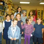 Vocal group at practice, (Nov. 2012)