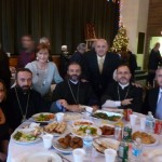 with priests