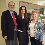 Professors: Alan Whitehorn, Sona Haroutyunian and Isabel Kaprielian