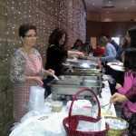 Preparing for the annual bazaar