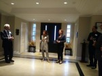 Visit of Annick Goulet, Charge d'affaires (2)