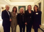 Visit of Annick Goulet, Charge d'affaires (4)