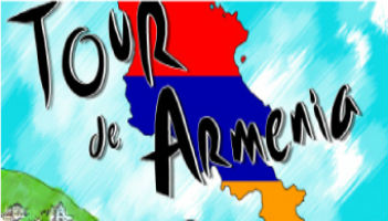 Raffi Youredjian presenting Tour de Armenia