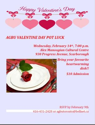 Valentine's pot luck