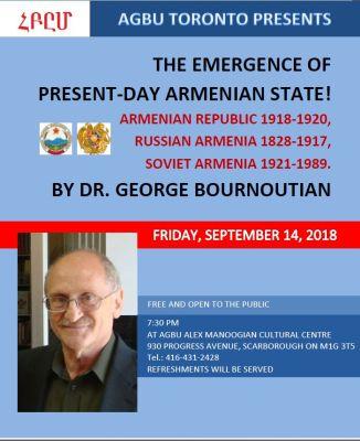 Dr. Bournoutian's lecture