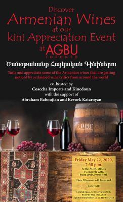 Armenian Wine apprecition
