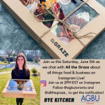 Hye Kitchen show with all the graze