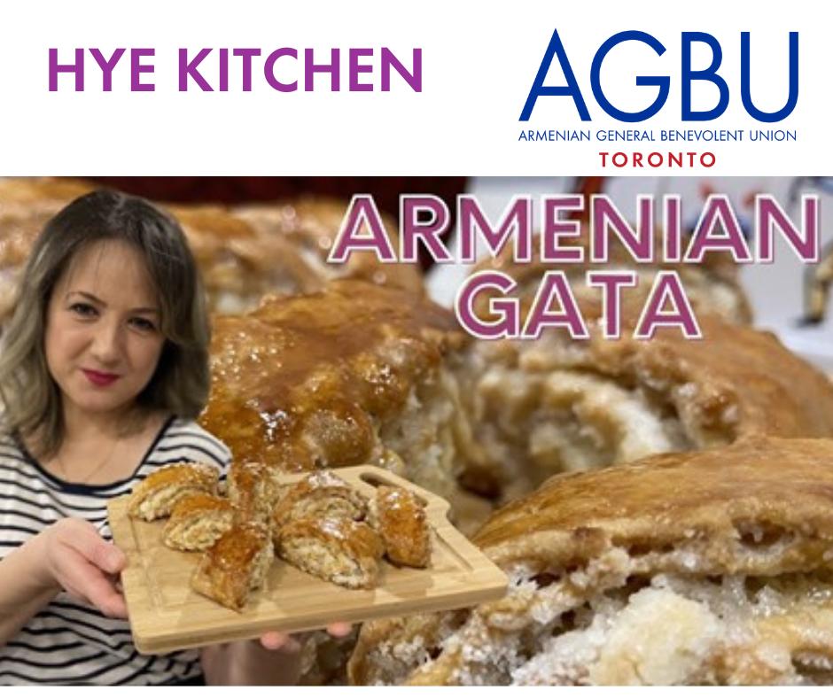 Hye Kitchen cooking show with Arus Ghazaryan